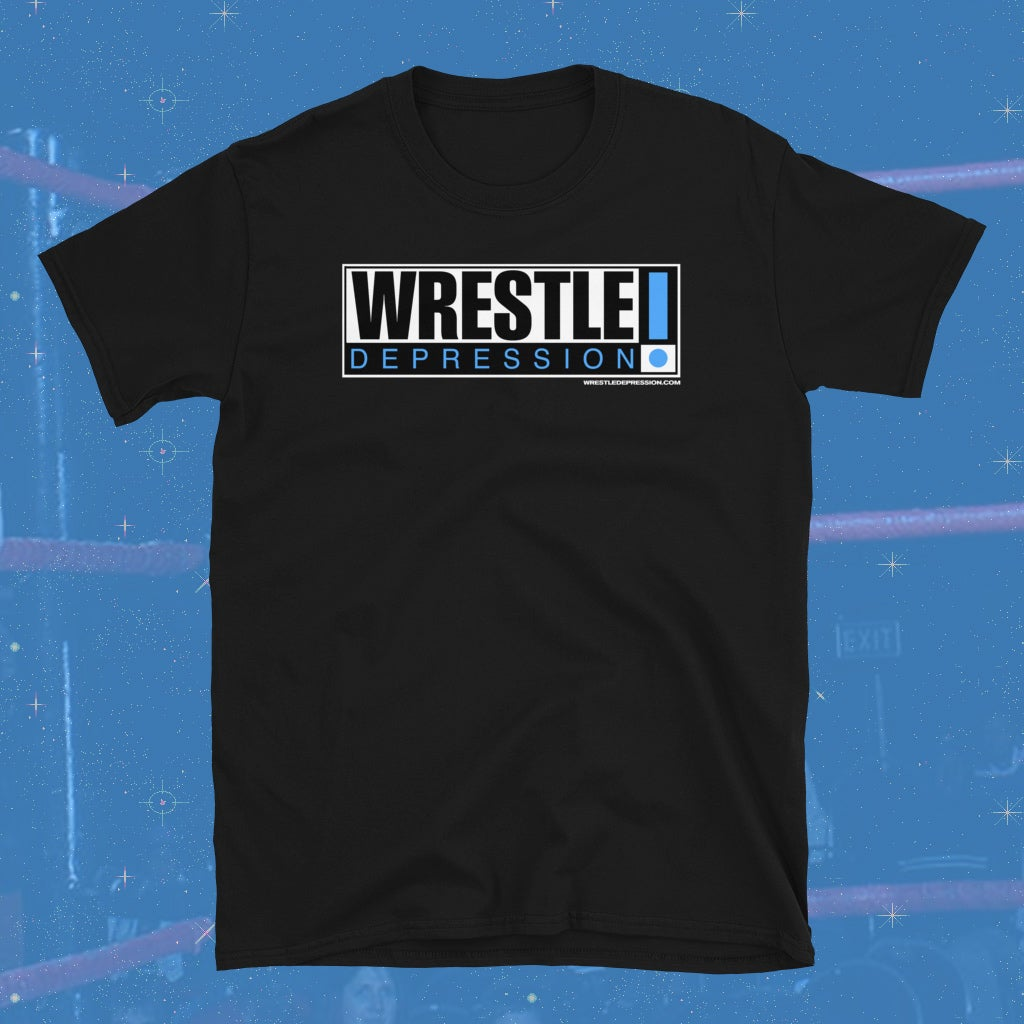 WRESTLEDEPRESSION - DOWN DOWN - T-SHIRT