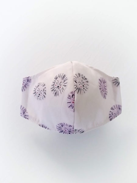 Image of KIDS Mask - Lavender Lion