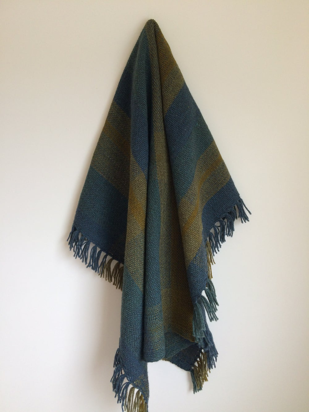 Image of Plaid Throw Ophelia Mikkelson Jones x Colourist Weaving
