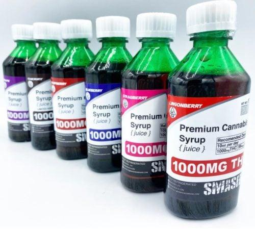 Smashed Syrup - 1000mg