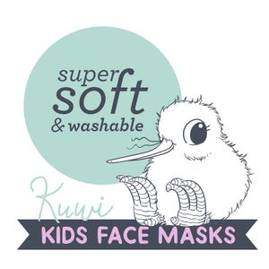 Kuwi the Kiwi Kids Face Mask - 2 Pack