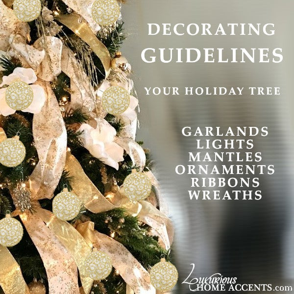 Image of GUIDELINES FOR DECORATE A HOLIDAY TREE