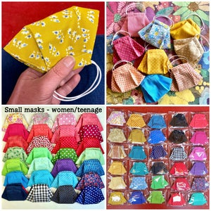 Image of Reusable Fabric Face Masks