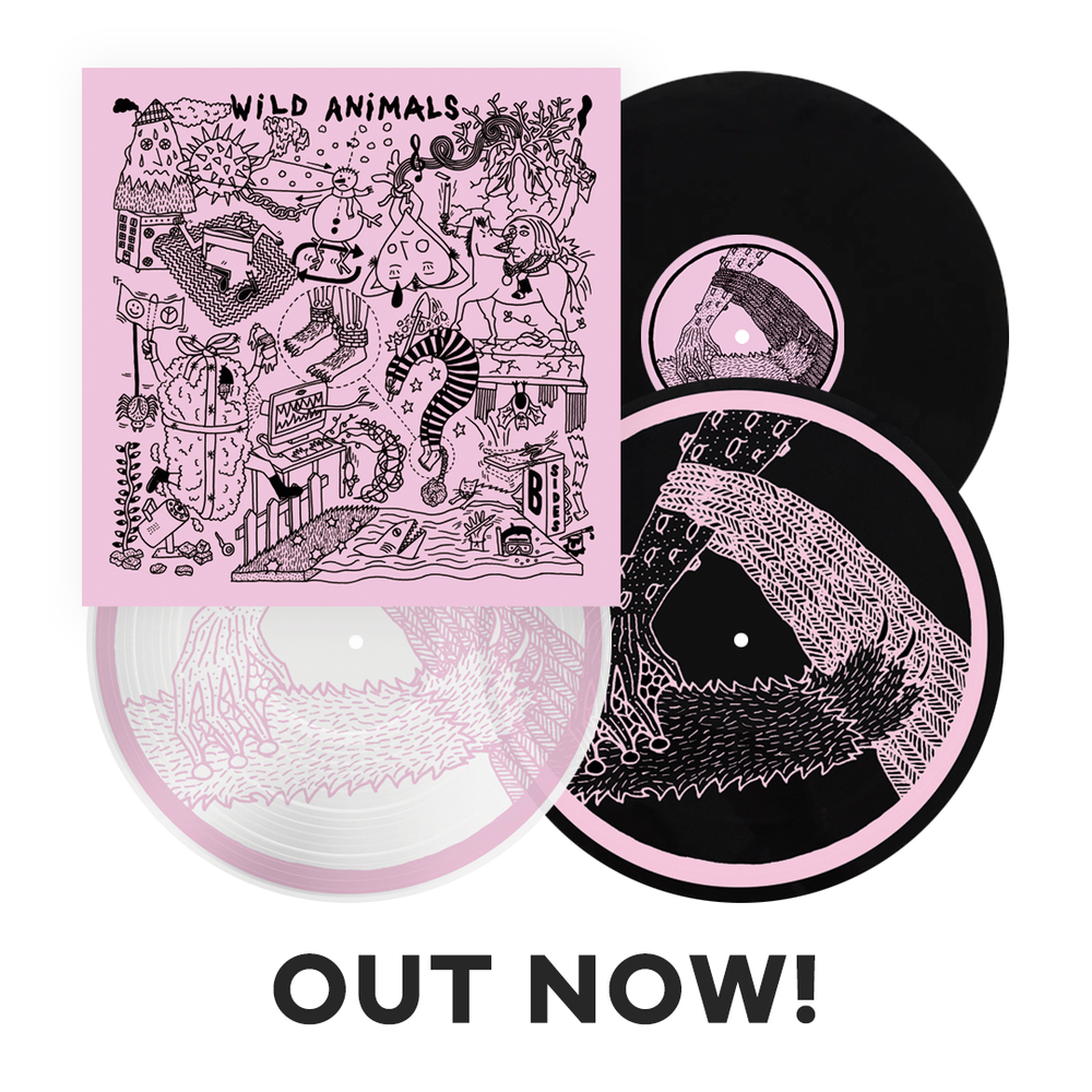 "Image of LADV142 - WILD ANIMALS ""B-sides"" 10"""