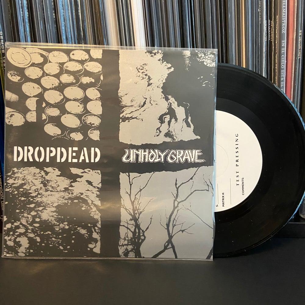 """DROPDEAD / UNHOLY GRAVE - Split 7"""""""