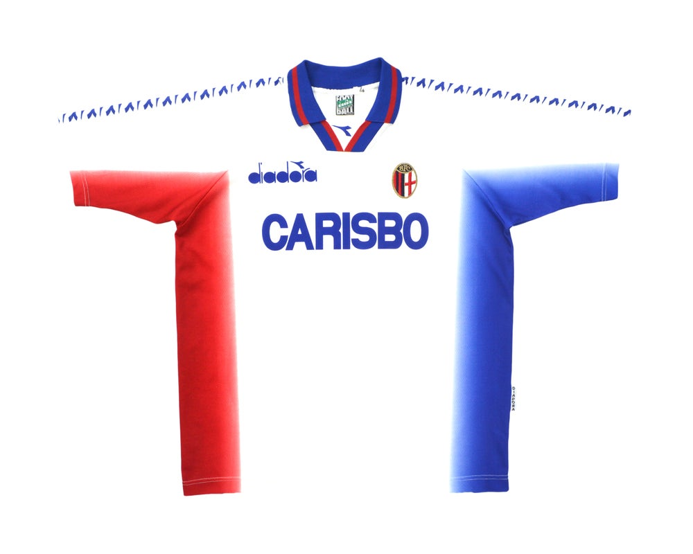 Image of 1996-97 Diadora Bologna Training Shirt XL