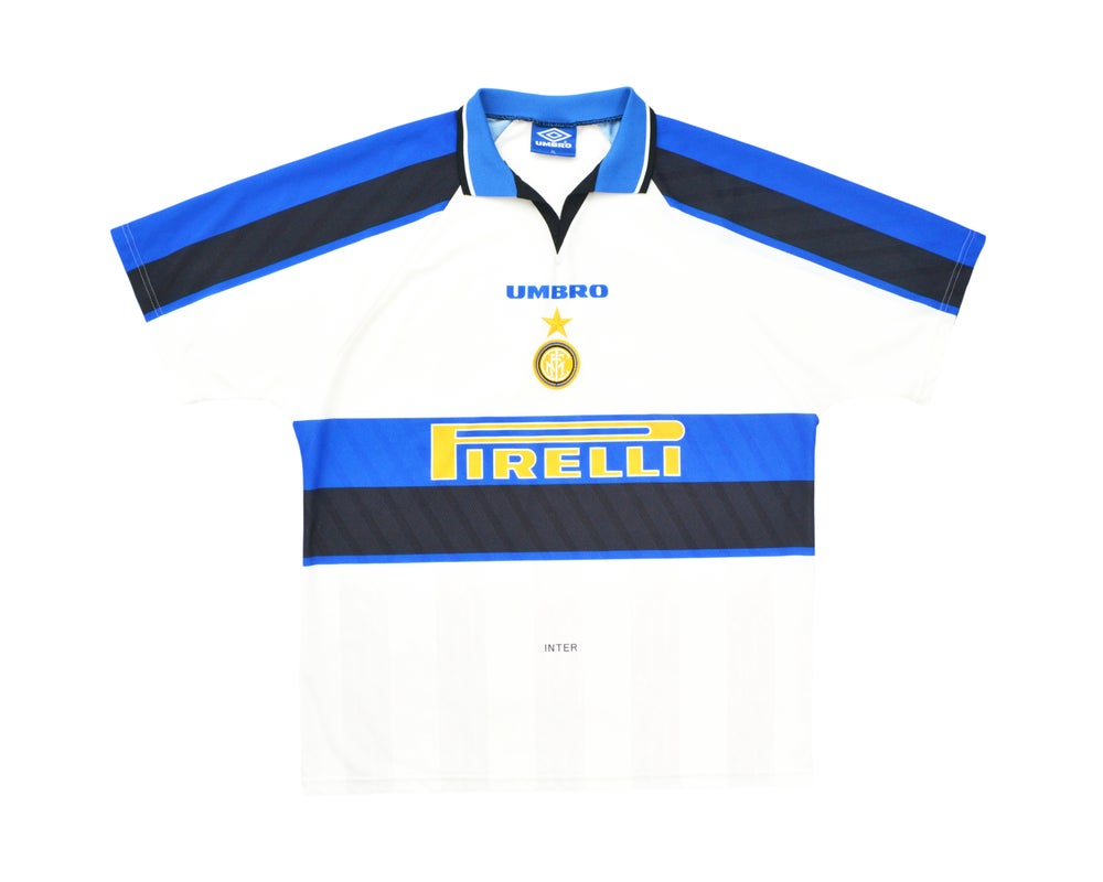 Image of 1996-97 Umbro Inter Milan Away Shirt