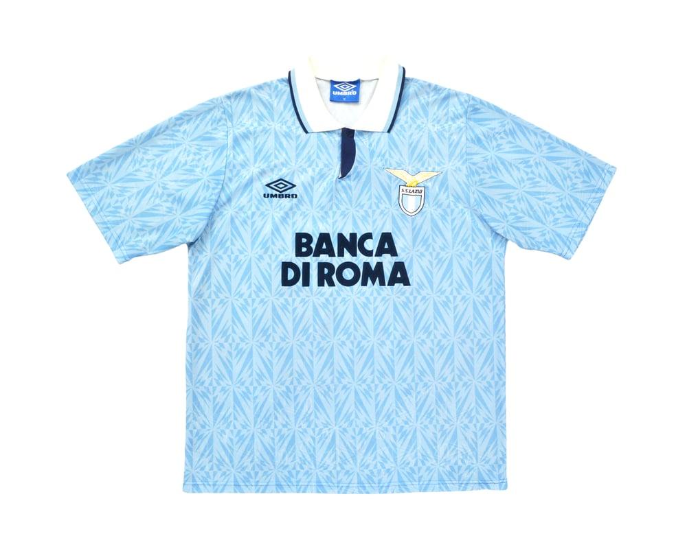 Image of 1992-93 Umbro Lazio Home Shirt M