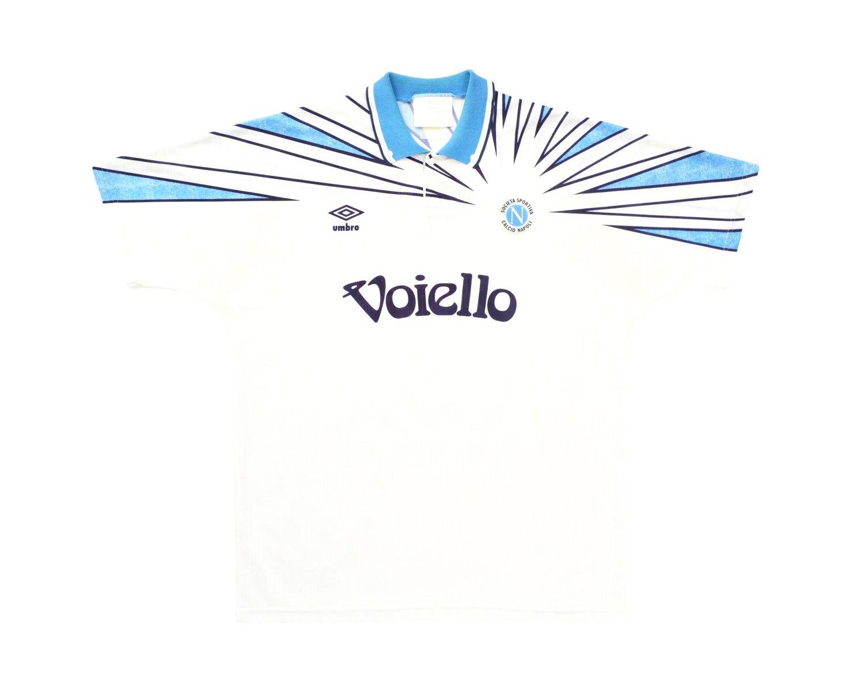 Image of 1991-93 Umbro Napoli Away Shirt L/XL