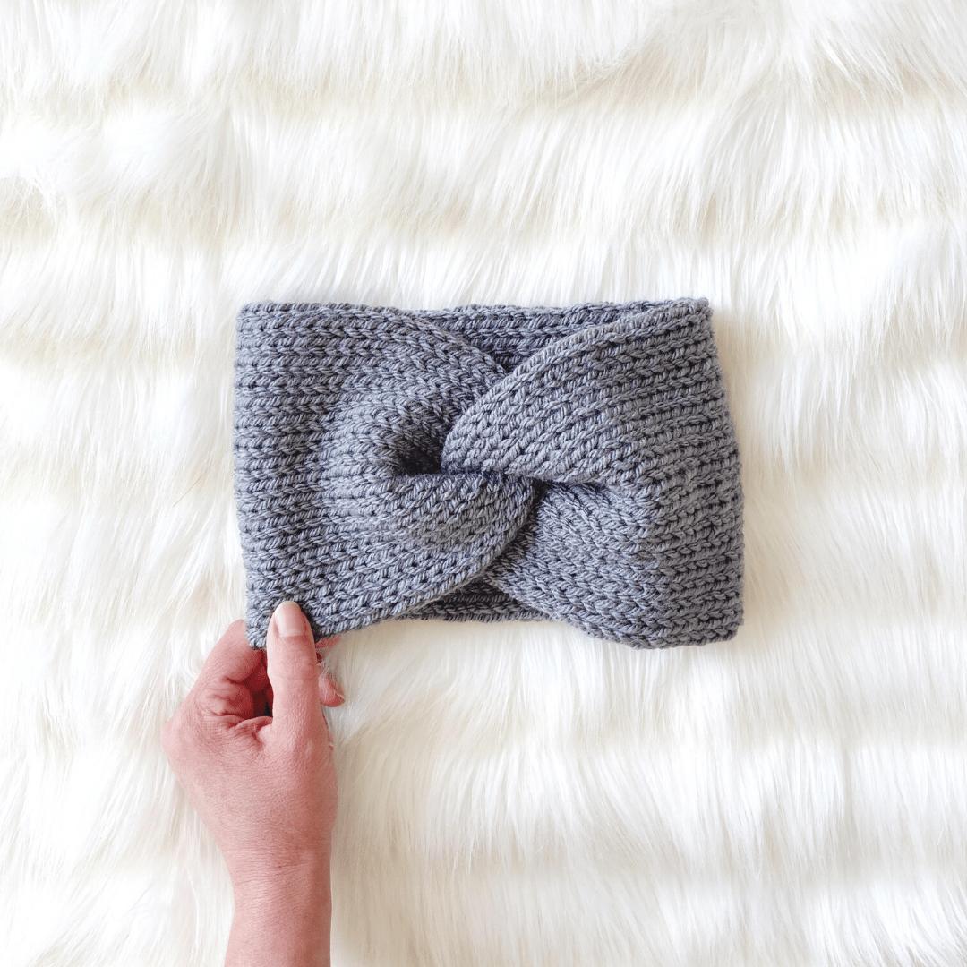 Image of DIY Knit Kit - Twisty Headband