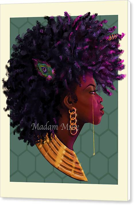 "Image of ""Goddess Energy"" Limited Edition Canvas Print"