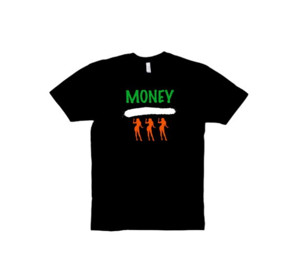 "Black ""Money Over Everything"" Tee"
