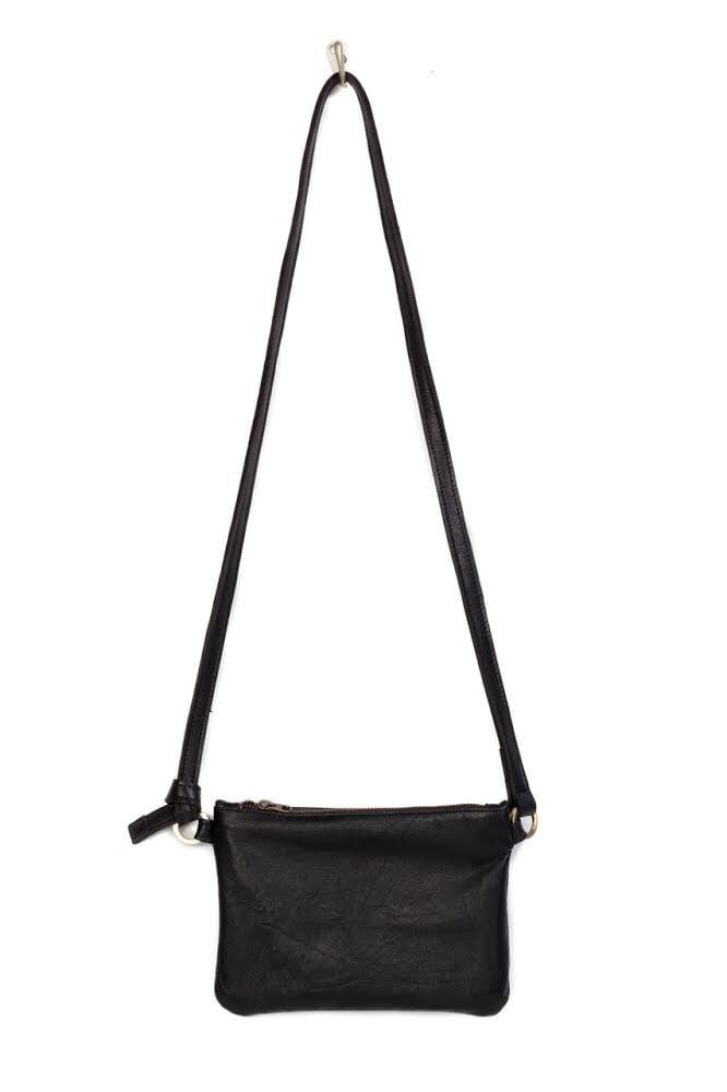 Image of Metallic Blue Chelsea Convertible Belt Bag