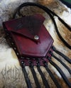 Hellbent Baphomet Leather Purse