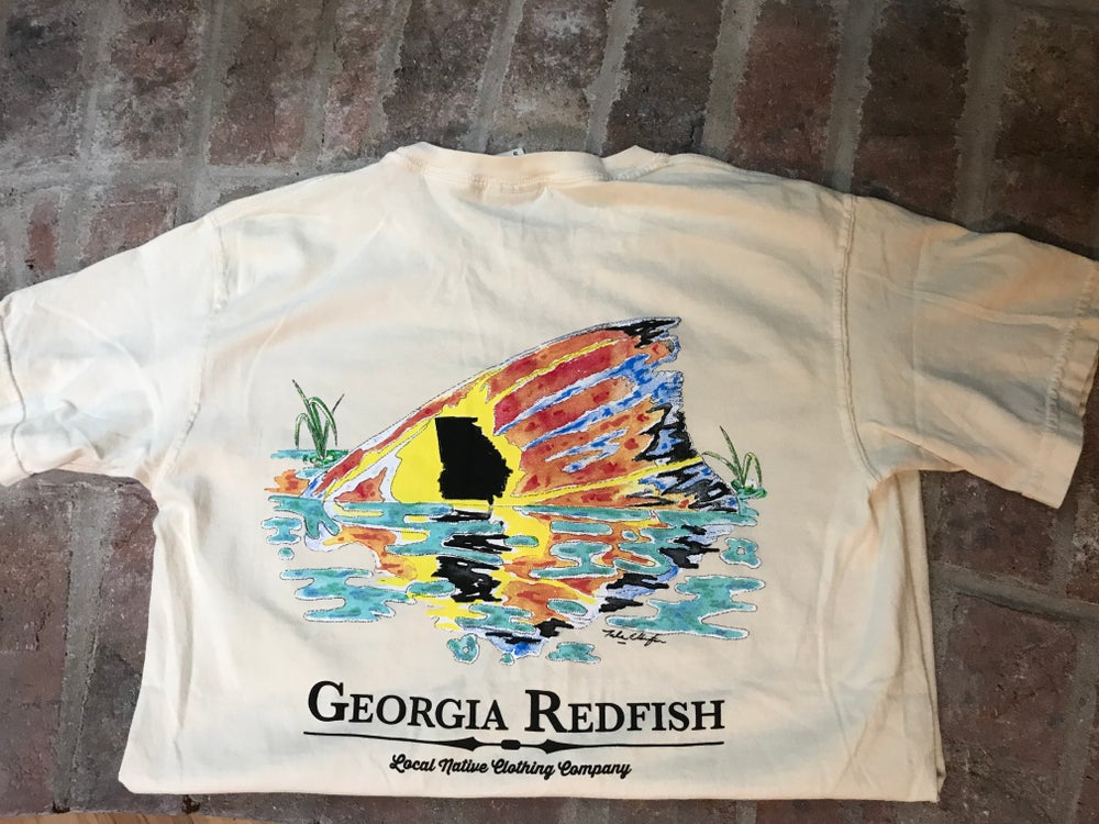 Image of Georgia Redfish Pocket Tee