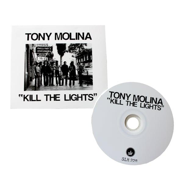 """Image of TONY MOLINA """"Kill The Lights"""" CD"""