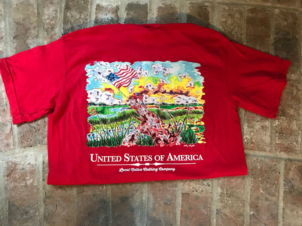 Image of USA Tee