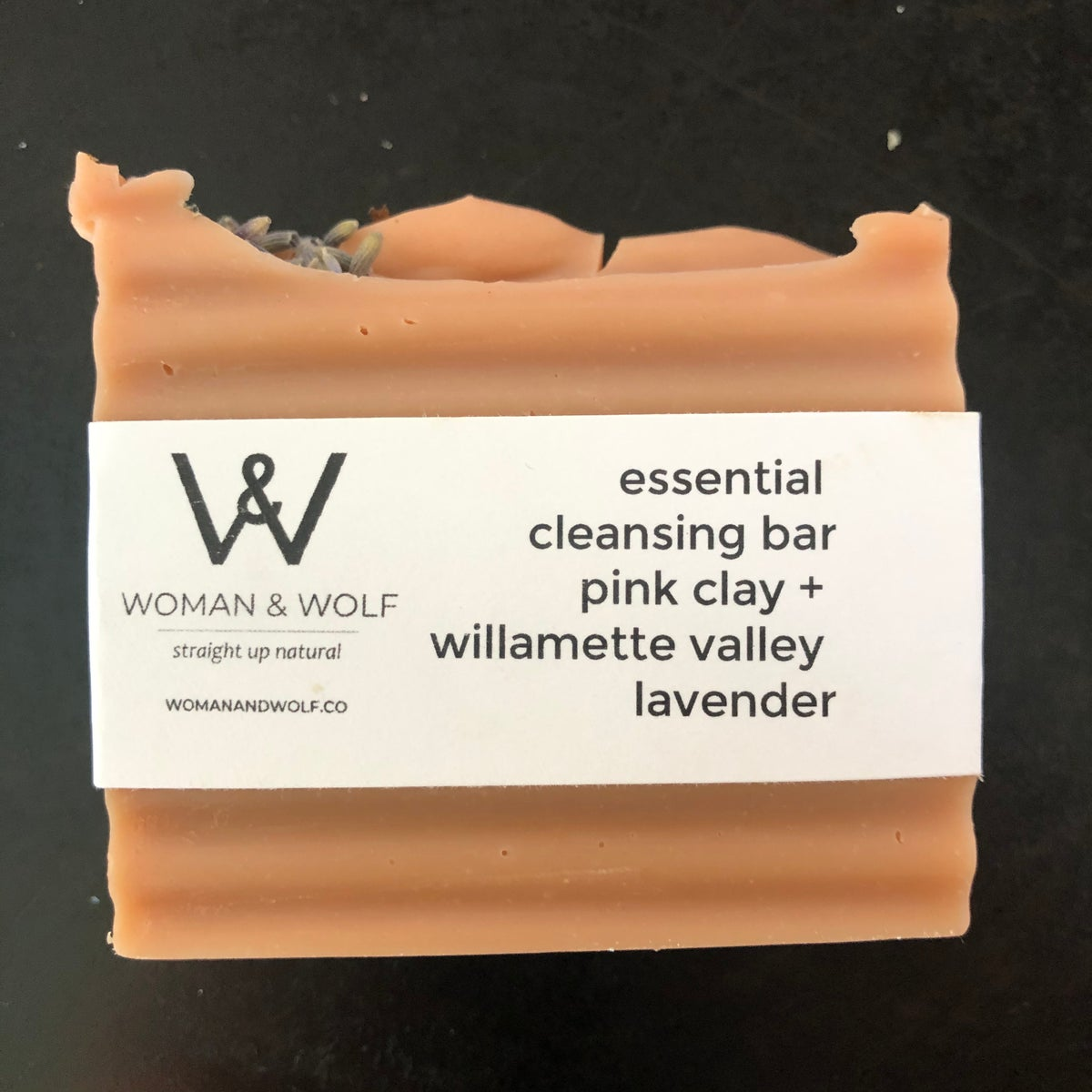 Image of Essential Cleansing Bar   Pink Clay + Willamette Valley Lavender