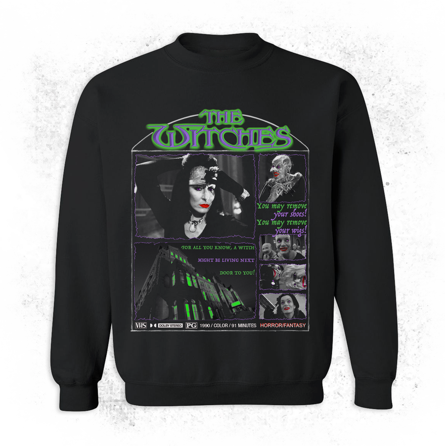Image of VHS WITCH SWEATSHIRT