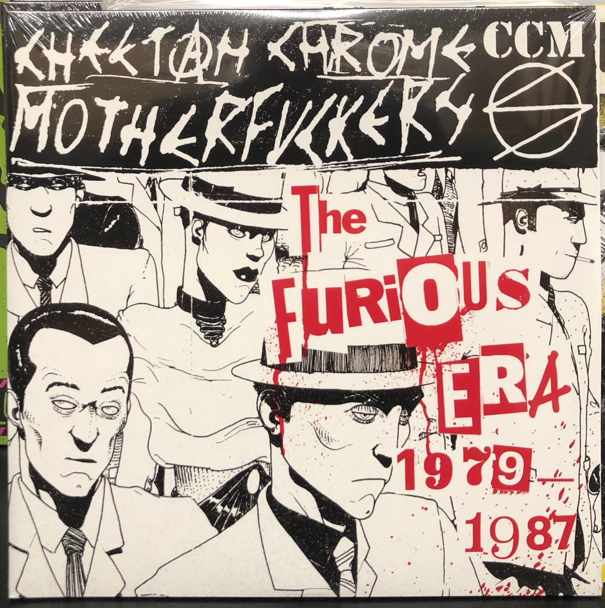 Image of CHEETAH CHROME MOTHERFUCKERS - The Furious Era '79-'87 2xLP