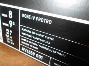 """Image of Zoom Kobe IV (4) Protro """"Carpe Diem"""""""