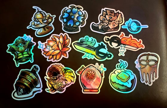 Image of Holo Stickers!