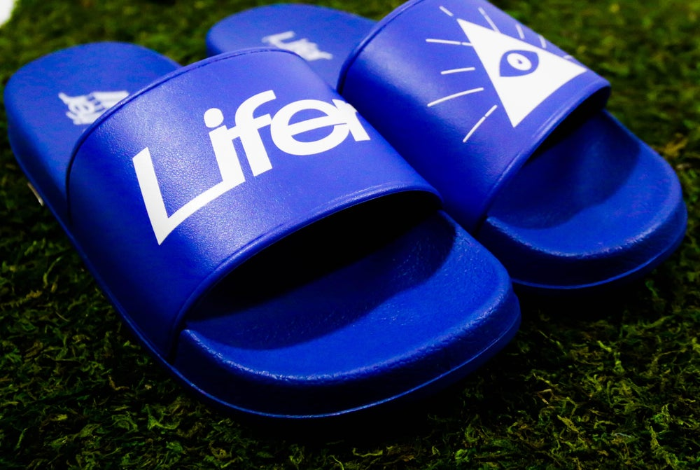 Image of THE LIFER SLIDE (NIPSEY BLUE)