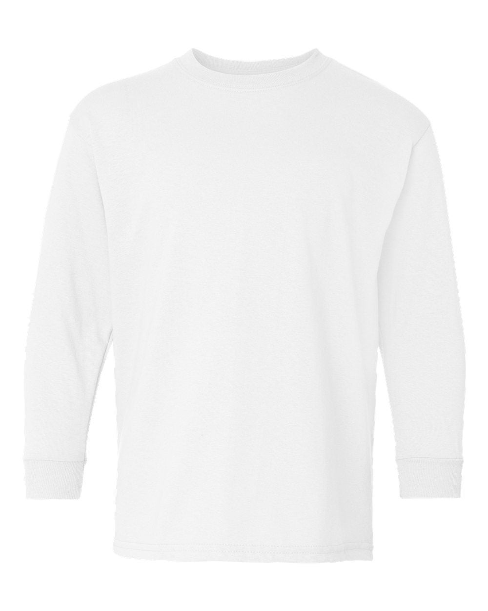 Image of Youth Wyandot Run Mascot Long Sleeve Tee