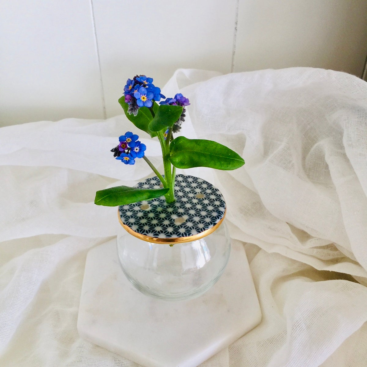 Image of Small Lily Pad Vase: 4 Designs