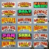 California Sticker Pack (Series 1)