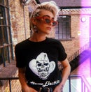 Image of Homoelectric skull logo T-shirt