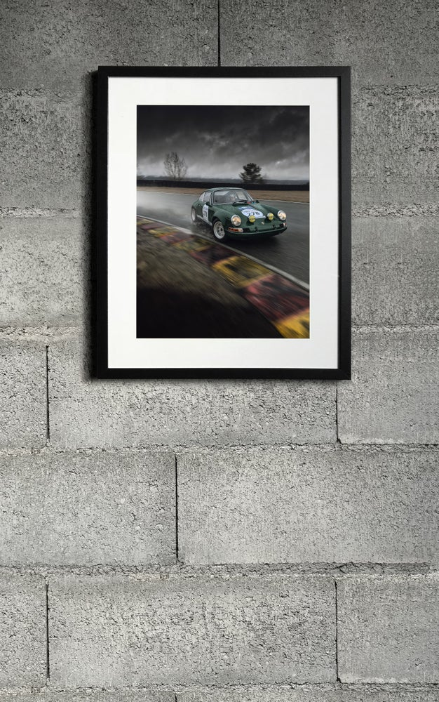 Image of Porsche 911 ST print 1