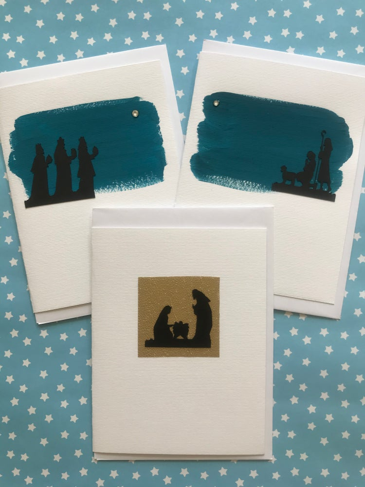Image of Nativity Silhouettes