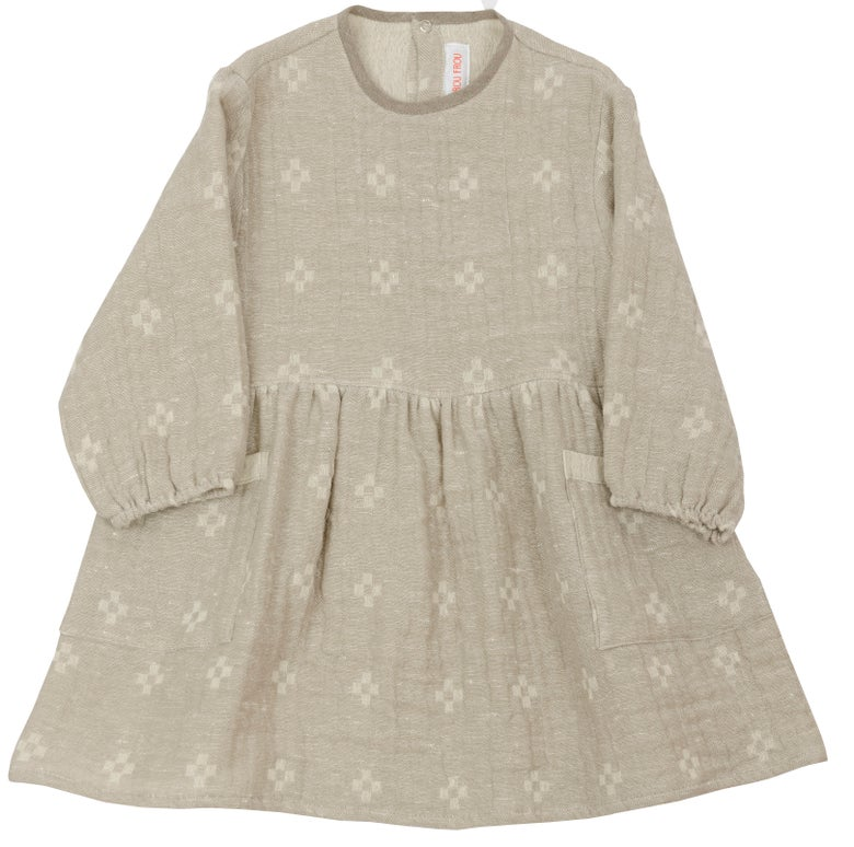 Image of THE DAY DRESS,  off white - mudd