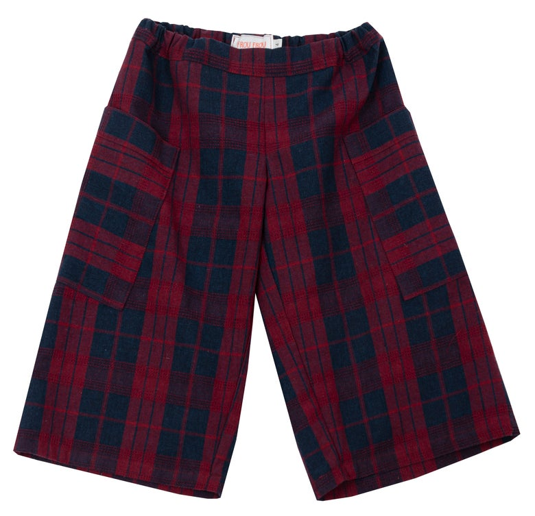 Image of - 30% MAXI PANT COLOGNE checked