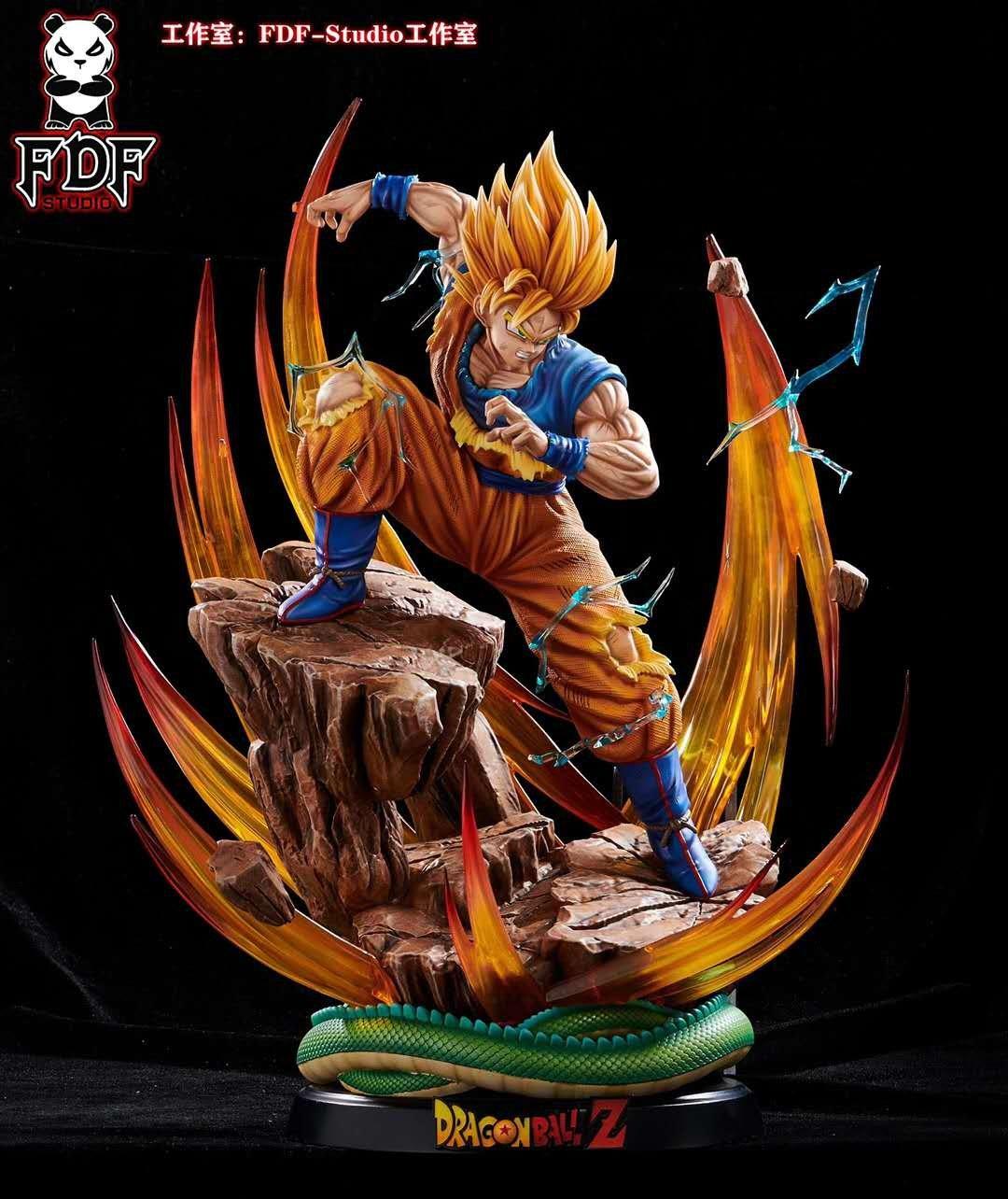 Image of [Pre-Order]Dragon Ball Z FDF Studio Goku 1:6 Resin Statue