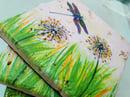 Image 5 of Dandelion & Dragonfly Stone Coaster
