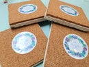 Image 5 of 'Rainbow Owl' Stone Coaster