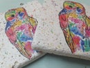Image 3 of 'Rainbow Owl' Stone Coaster
