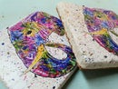 Image 2 of 'Rainbow Elephant' Stone Coaster
