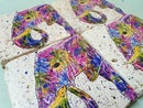 Image 3 of 'Rainbow Elephant' Stone Coaster