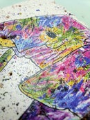 Image 4 of 'Rainbow Elephant' Stone Coaster