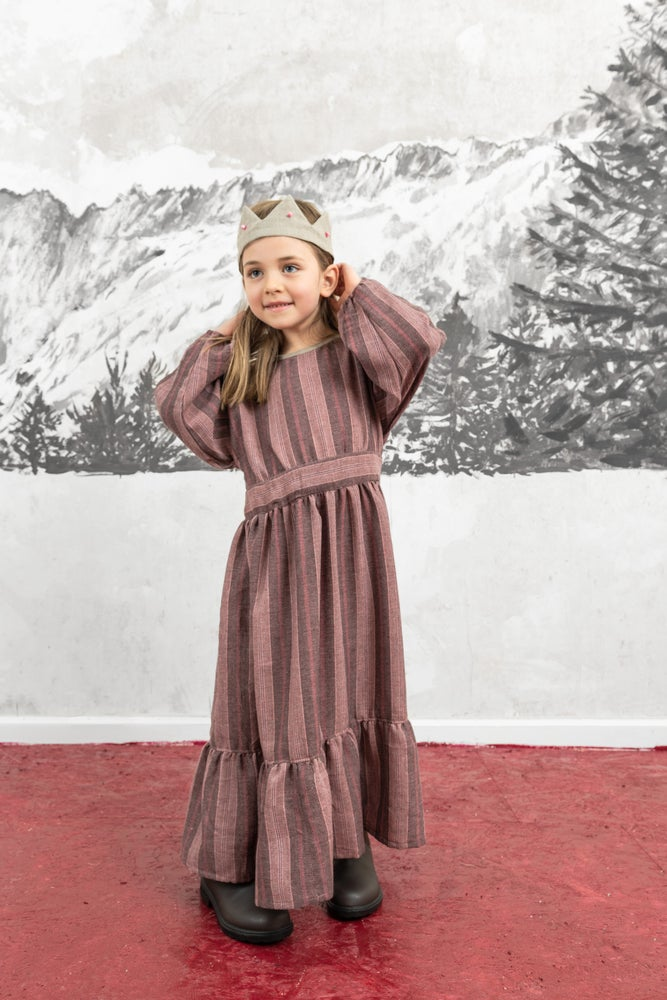 Image of DRESS MARIE red beet