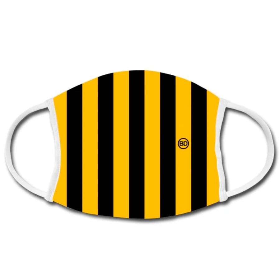 Image of Büro Destruct - BD Facemask YellowBlack