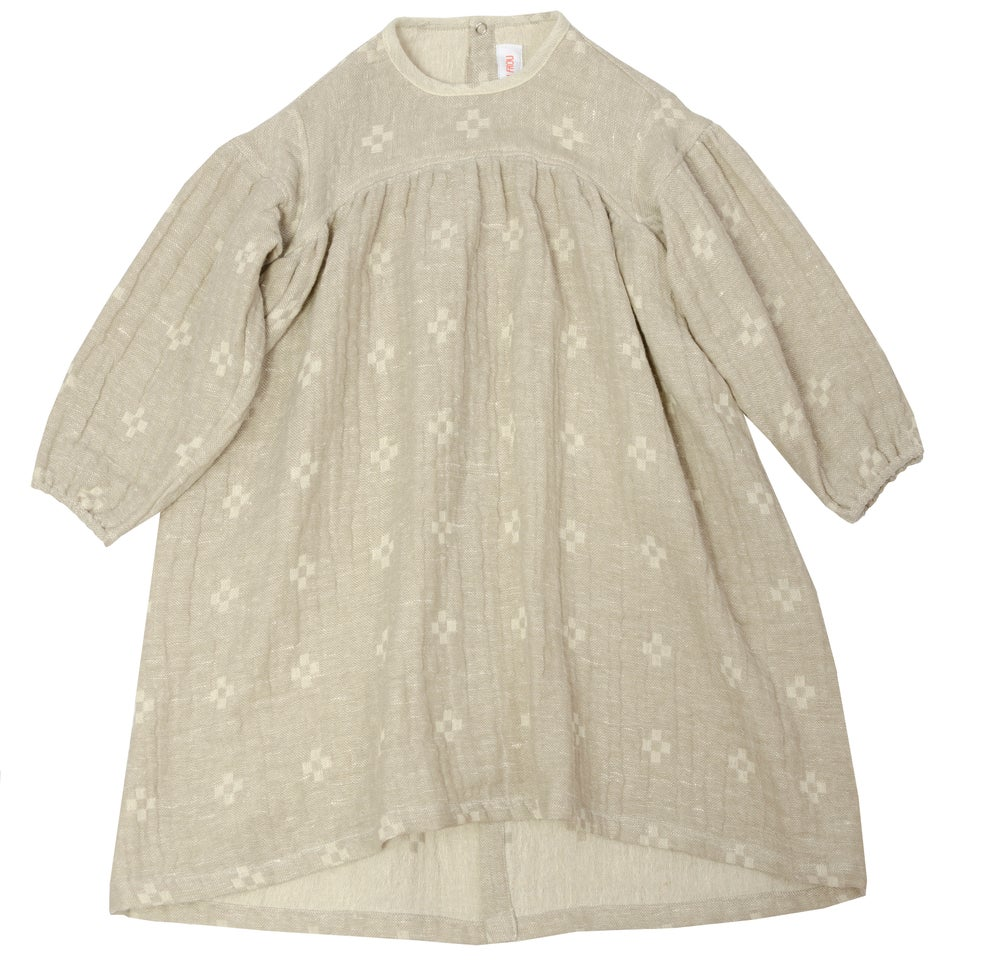 Image of - 50%   DRESS SOPHIE   off white - mud