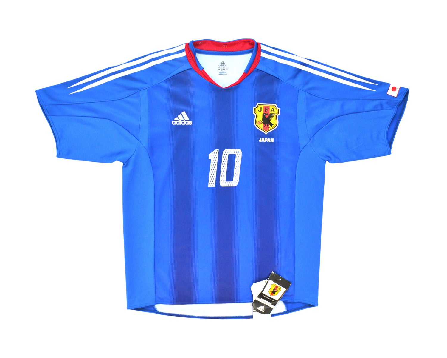 Image of 2004-05 Adidas Japan Player Issue Home Shirt 'Nakamura 10' L