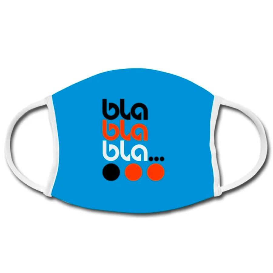 Image of Büro Destruct - BD Facemask Bla Bla Bla