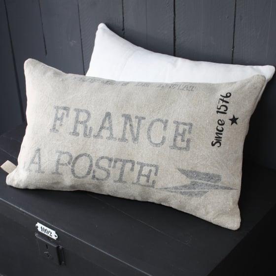 Image of Coussin rectangulaire La poste Since 1576.