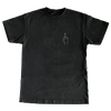 Middle Finger Hand-Embroidered T-shirt