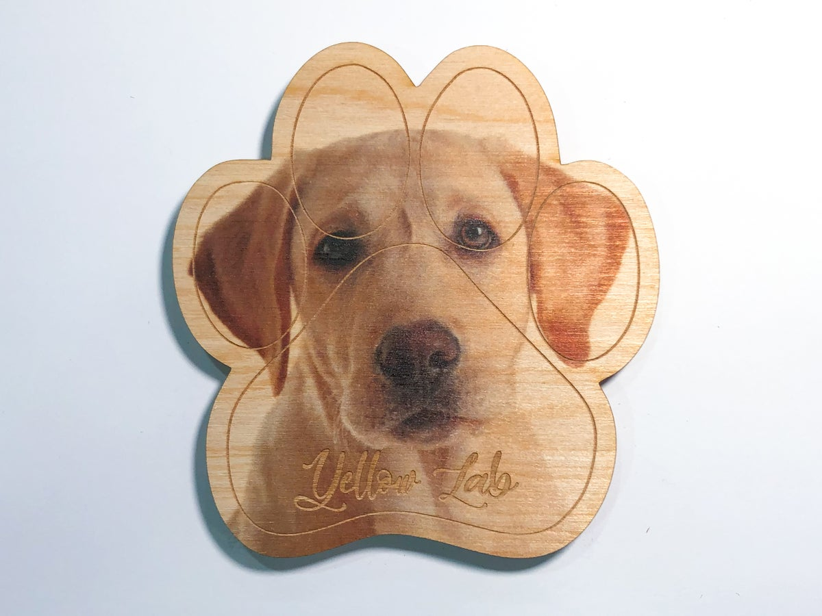 Image of Yellow Lab Magnet
